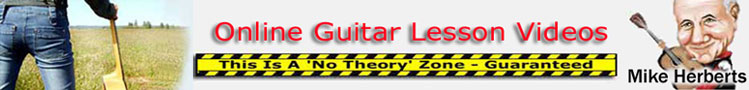 Guitar lessons header